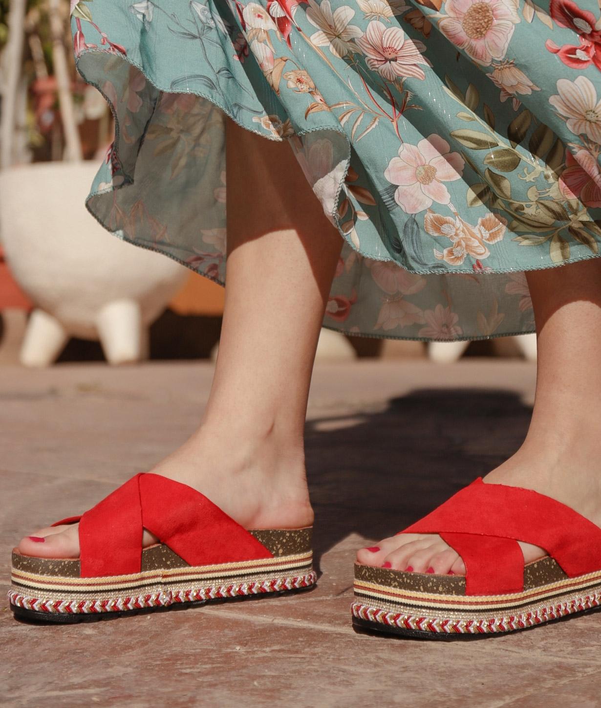 Sandalo Decare - Rosso