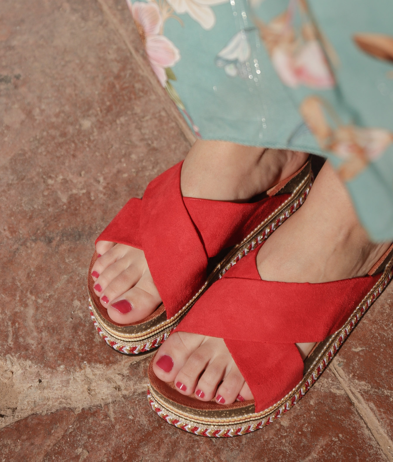 Sandal Decare - Red