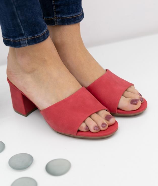 Sandália de Salto Dareka Xti - Vermelho