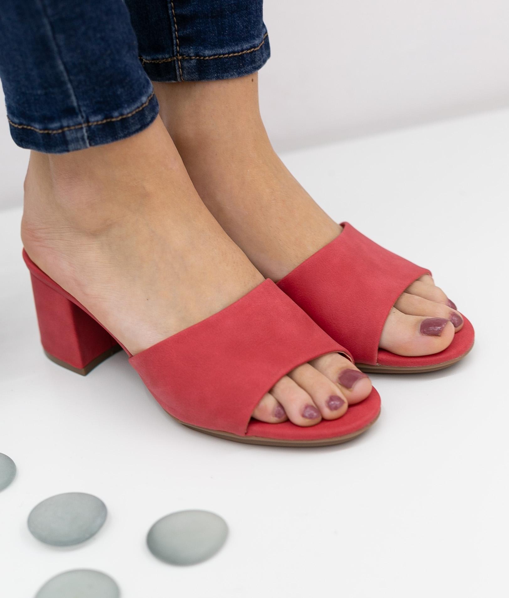 Sandalo Alto Dareka Xti - Rosso