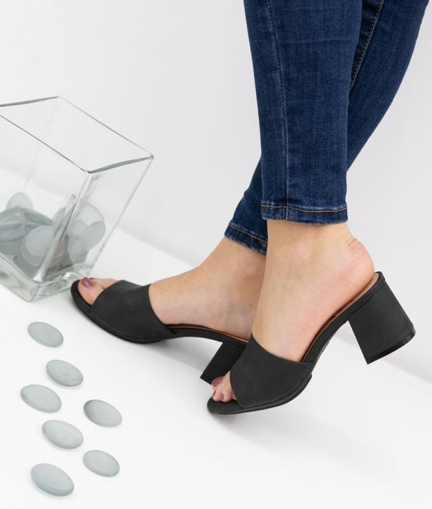 Sandália de Salto Dareka Xti - Preto