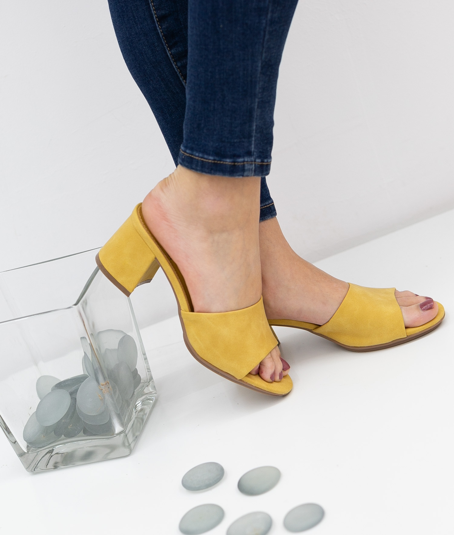 Sandale Talon Dareka Xti - Jaune