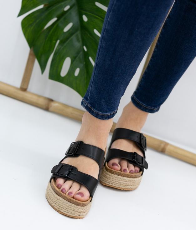 Sandal Perfis Xti - Black