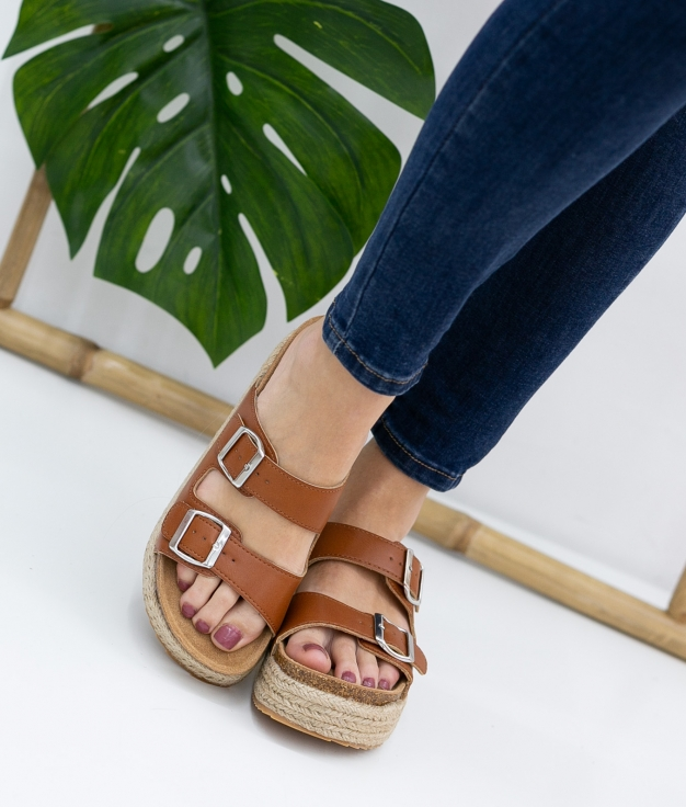 Sandal Perfis Xti - Camel