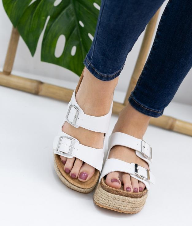 Sandalo Perfis Xti - Bianco