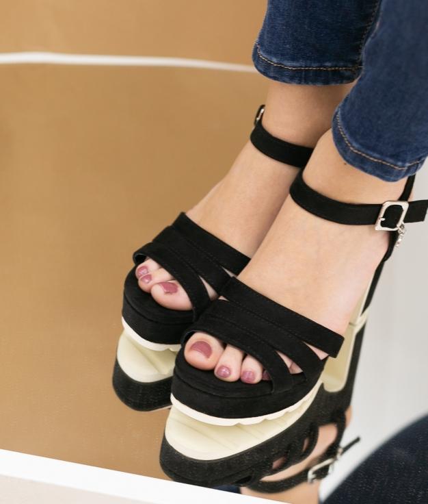 High Sandal Uwaju Xti - Black