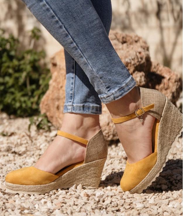 Wedge Heel Piren Xti - Yellow