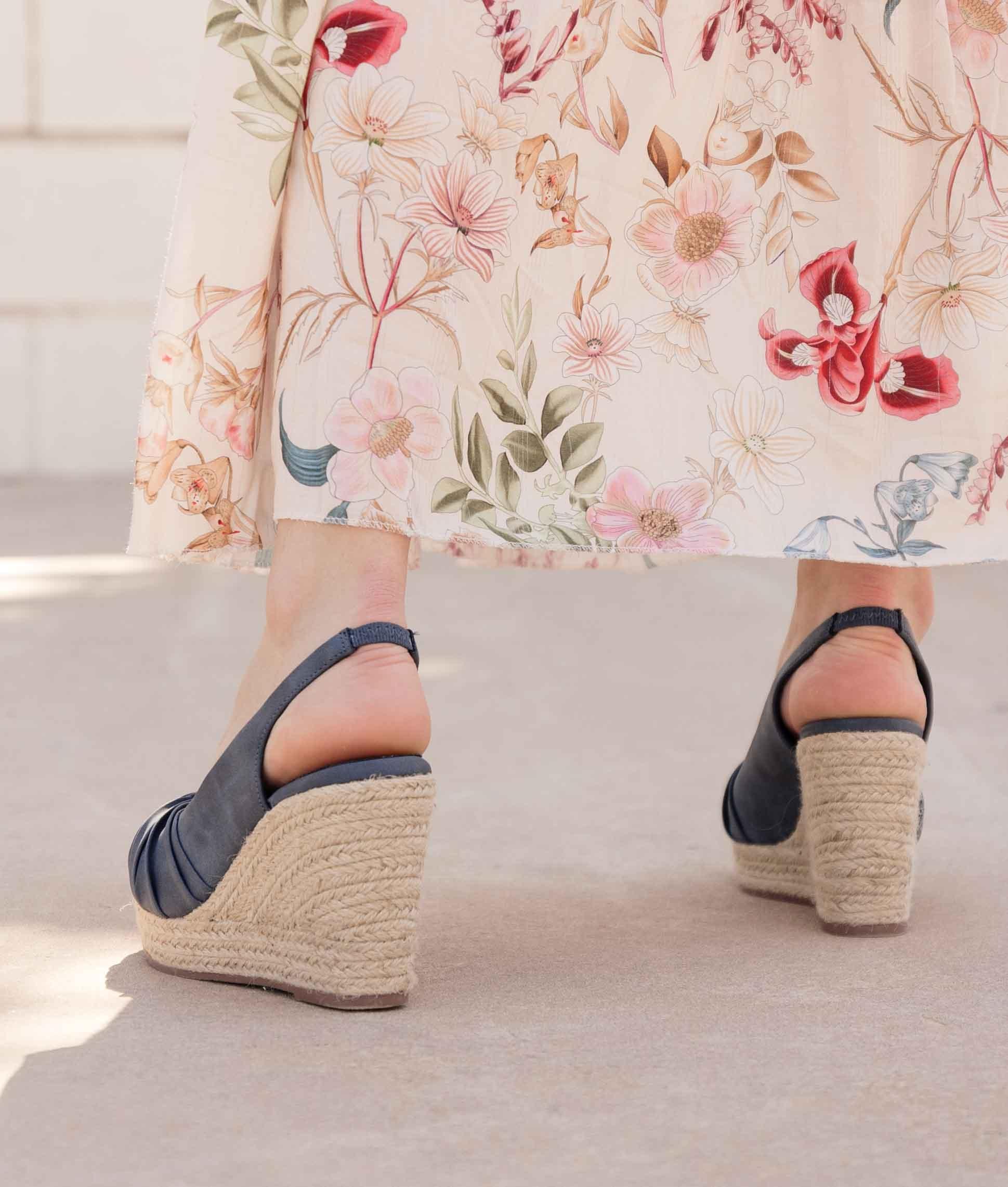 Wedge Heel Fisper Xti - Jeans