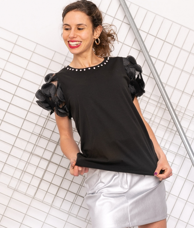T-shirt Caen - Noir