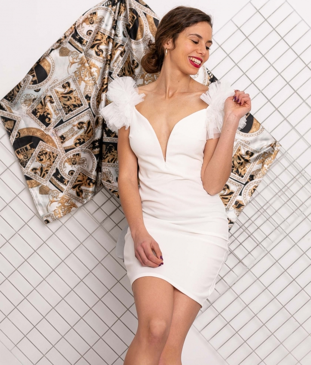 Vestido Tesuti - White