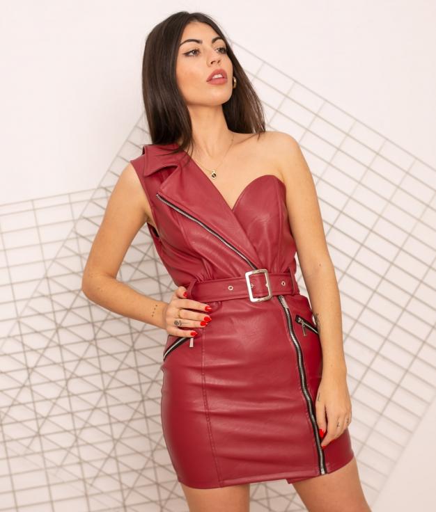 Vestido Cargalim - Granate
