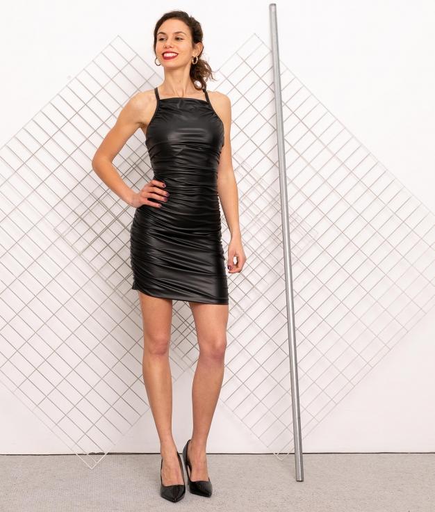 Vestido Estuca - Negro