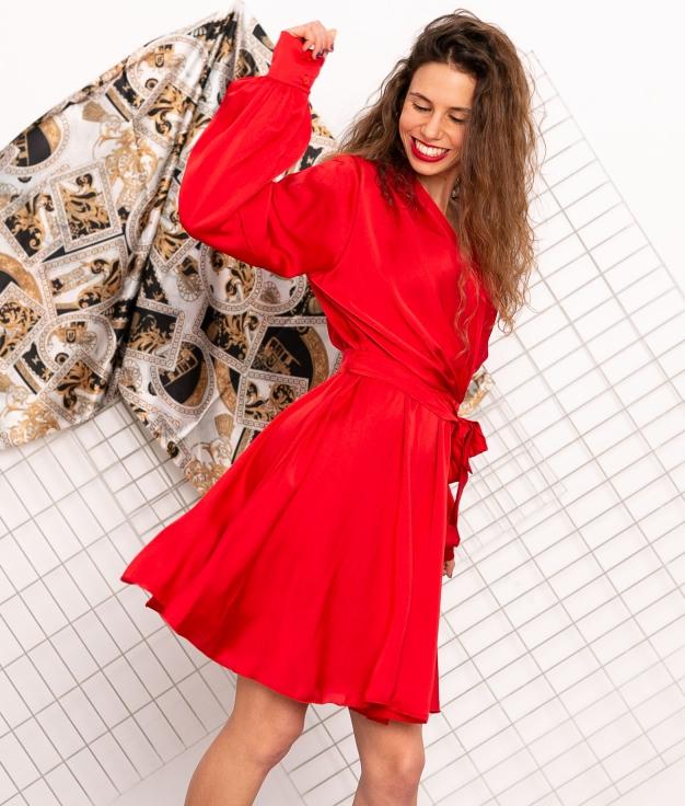 Vestido Caolip - Rojo