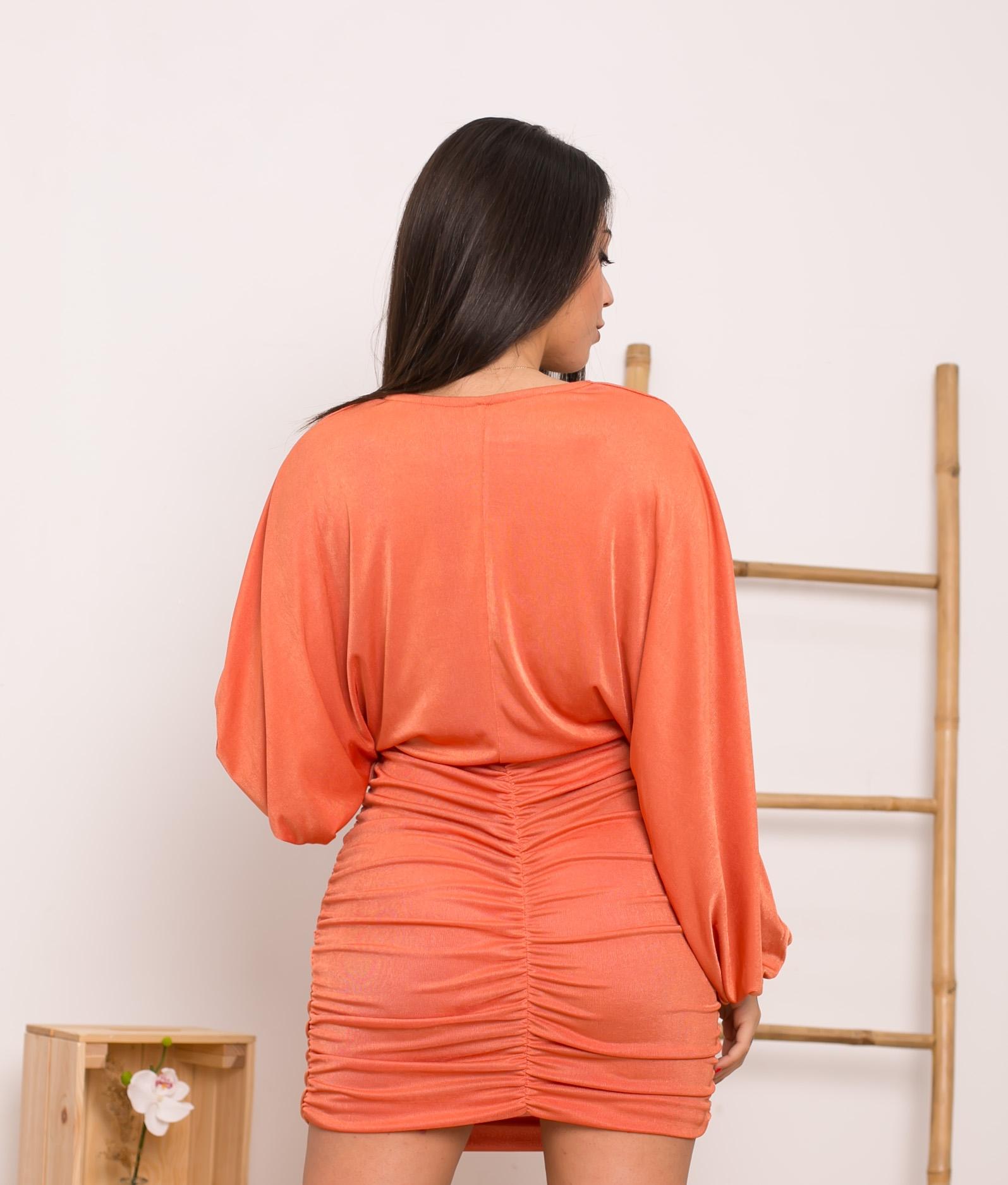 Vestido Yalim - Naranja