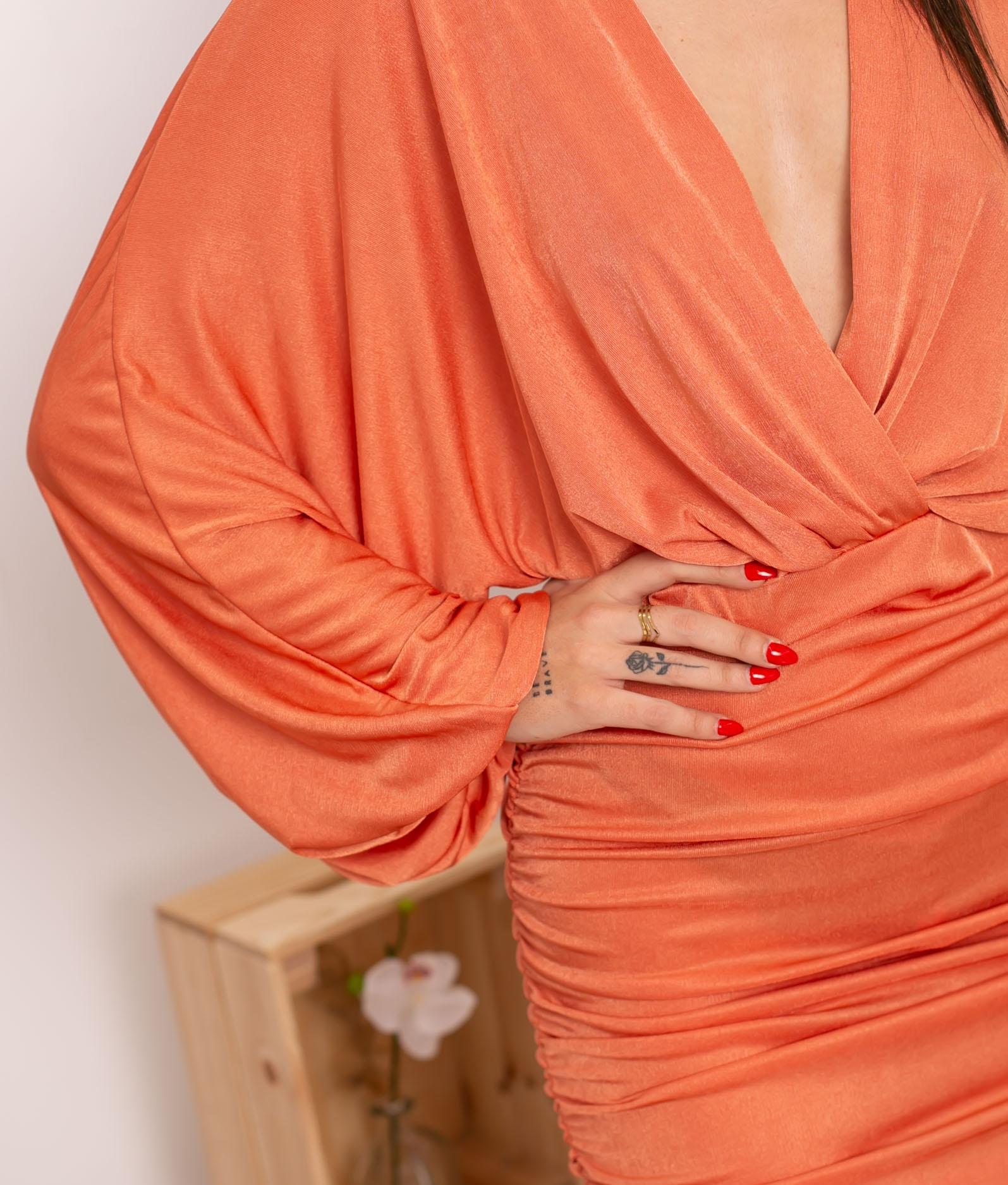 Vestido Yalim - Laranja