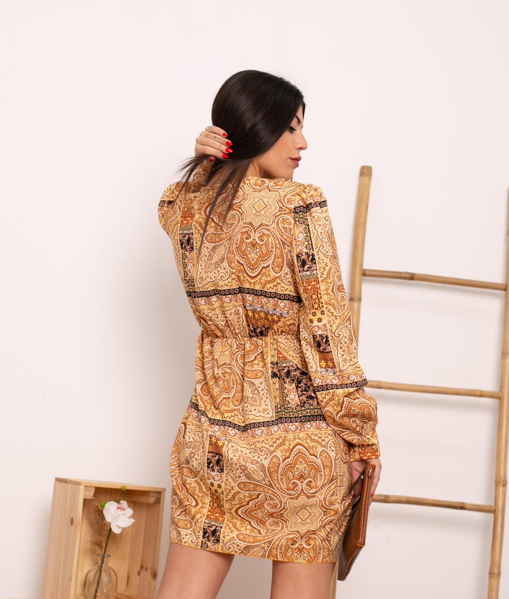 Vestido Lipen - Camel