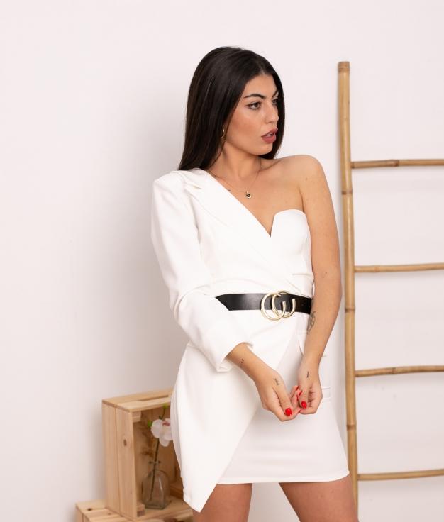 Vestido Kumbia - Blanc