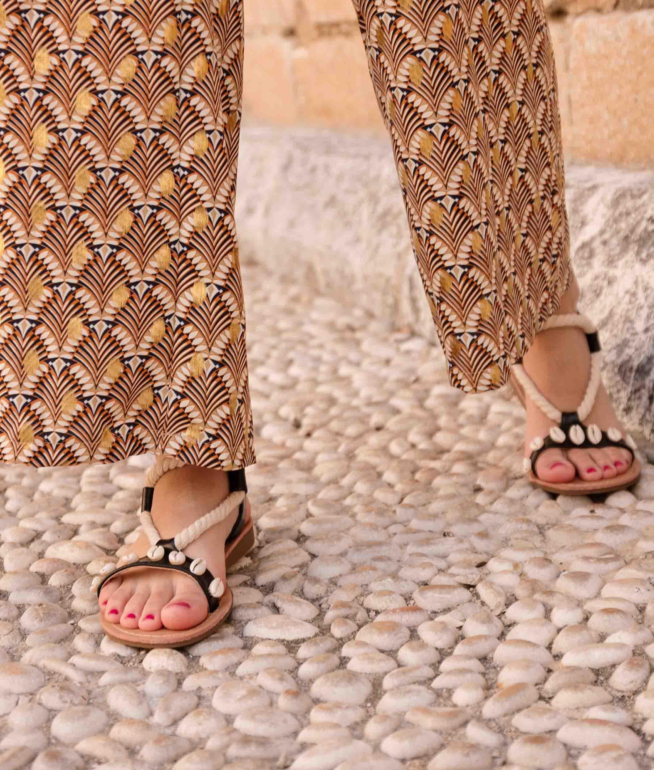 Flat Sandal Liduc - Black