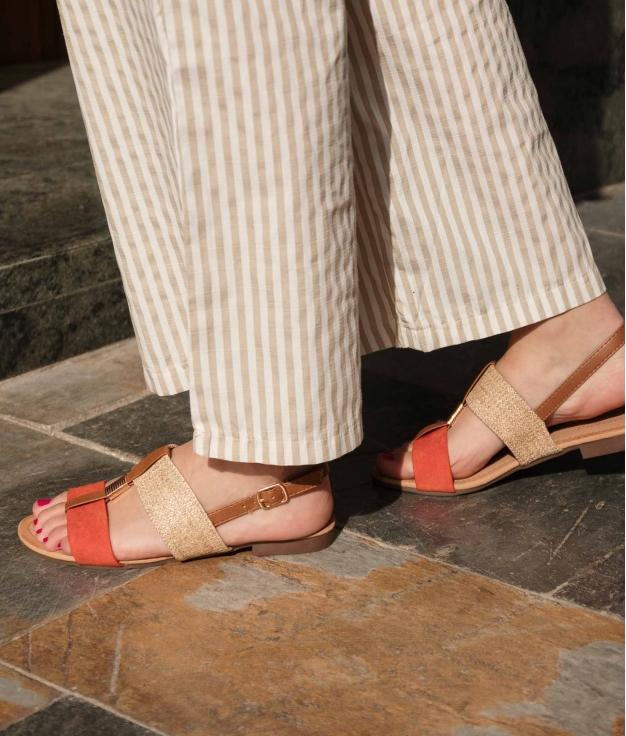 Flat Sandal Jumy - Orange