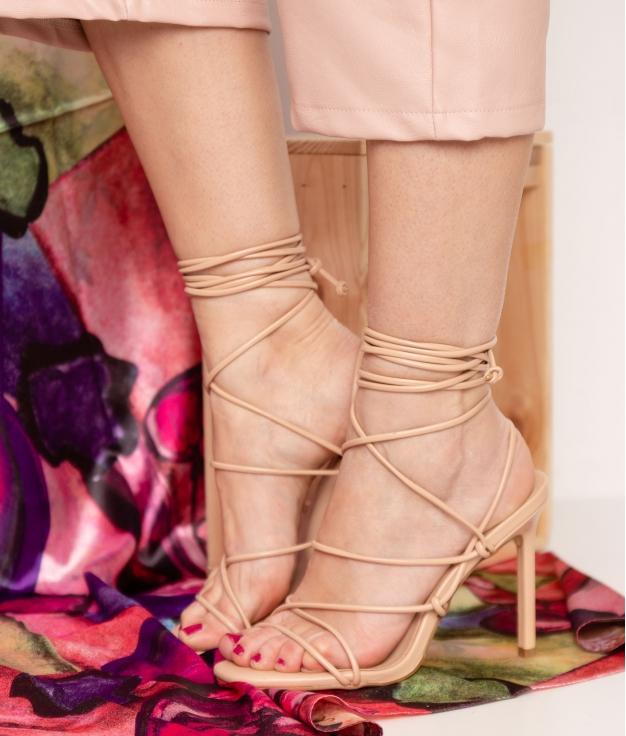 Sandale Talon Buty - Rose