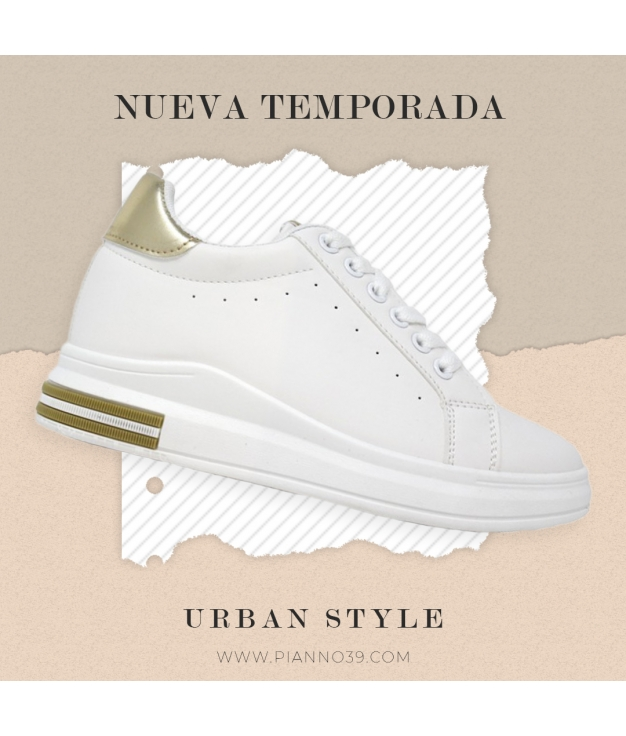 Sneakers Ted - oro