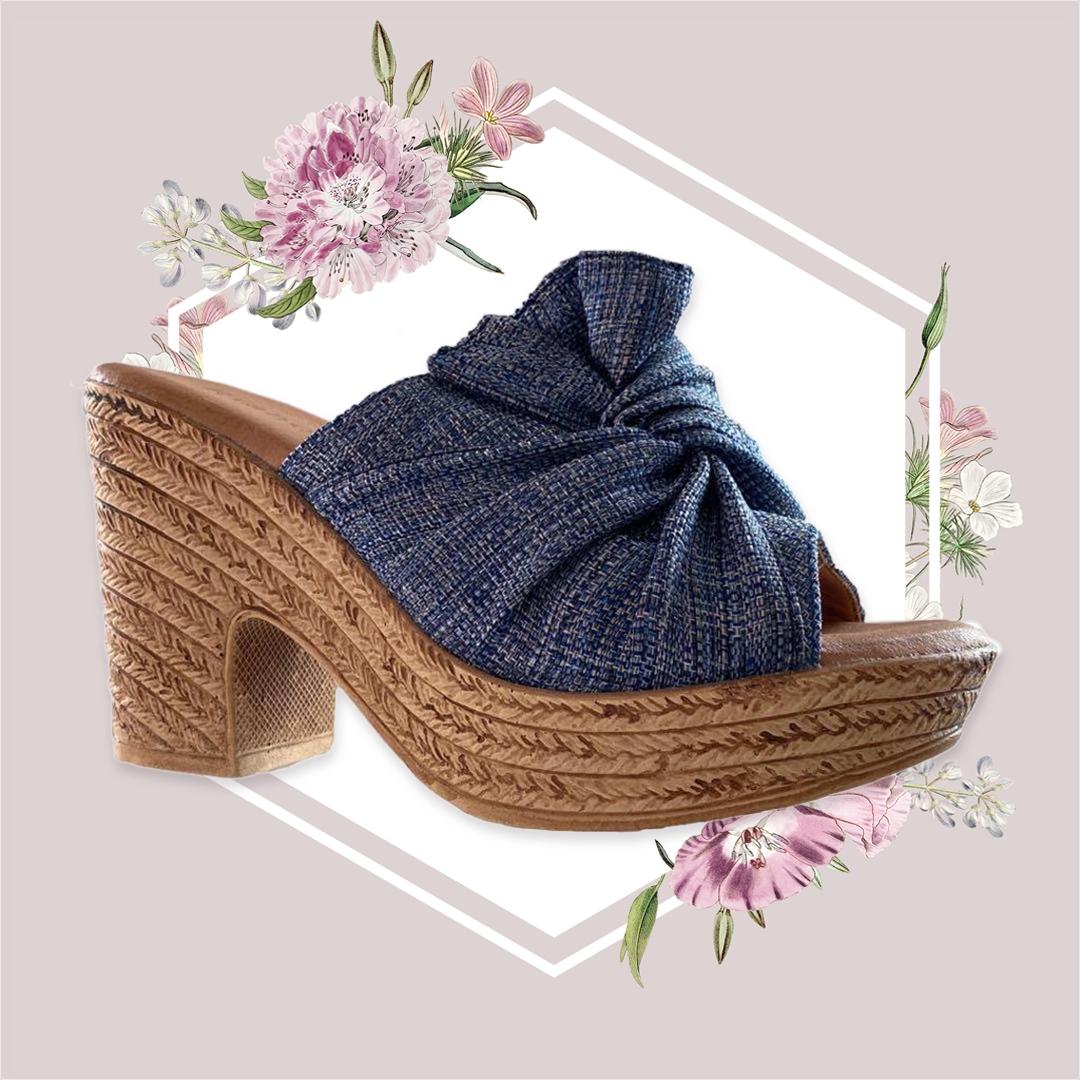 Sandalo Alto Tokane - Cammello