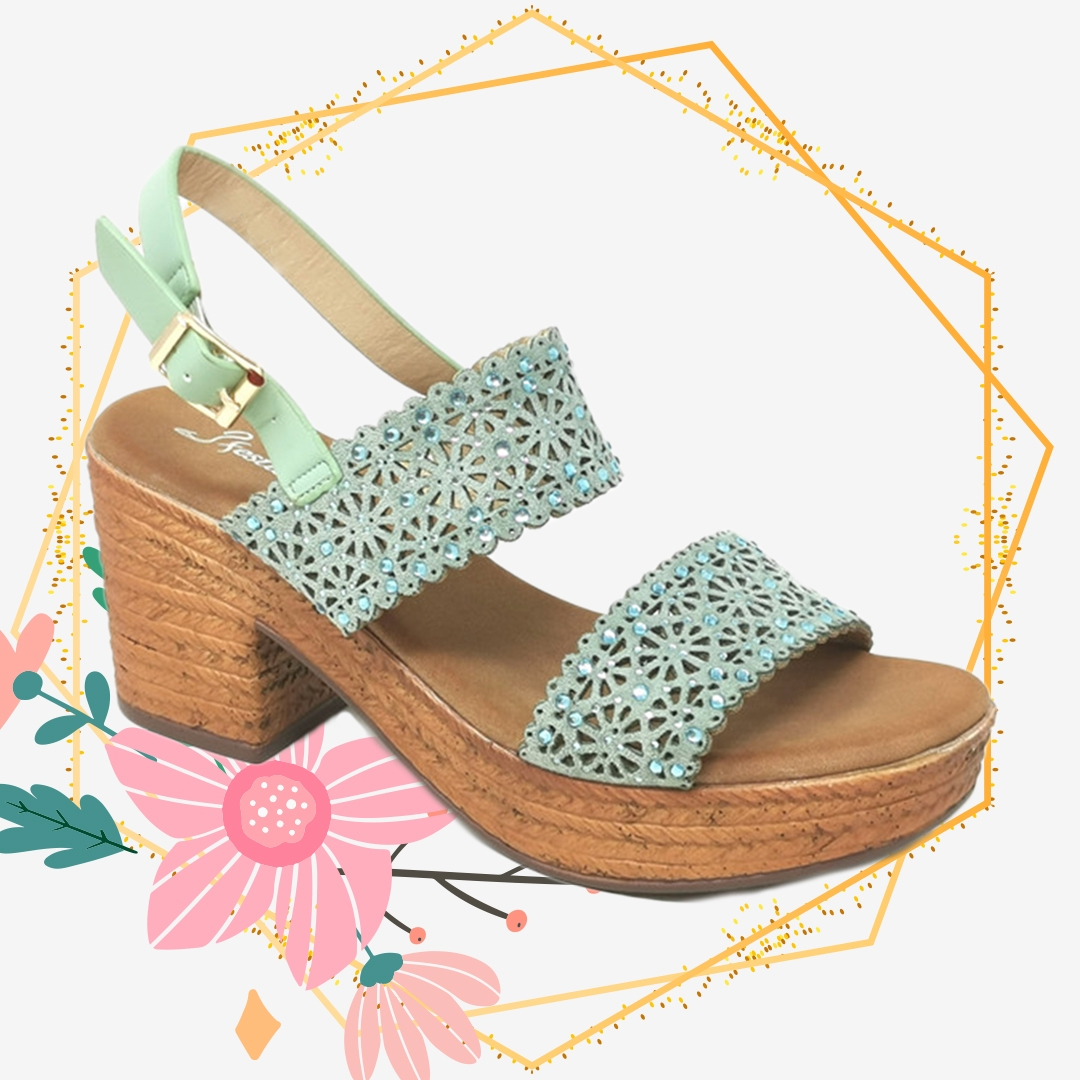 Sandalo Alto Beus - Rosa