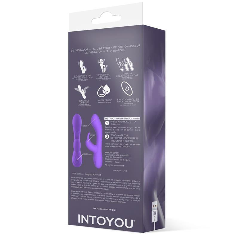 Vibrador Mauve Silicona - Purple
