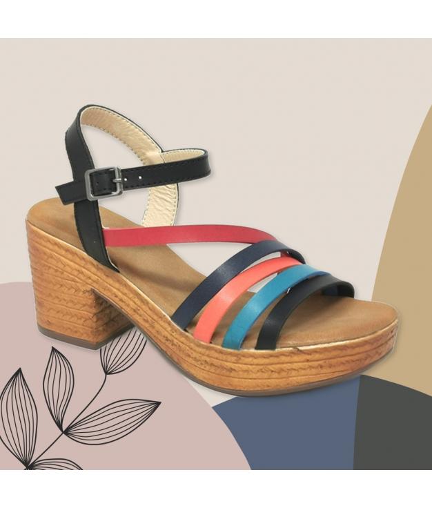 Sandalia de Tacón Dakini - Black