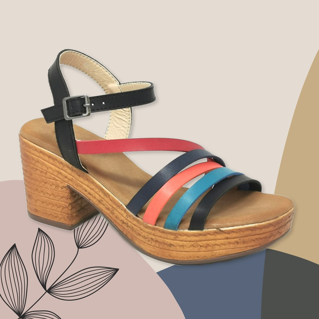 Sandalia de Tacón Dakini - Rouge