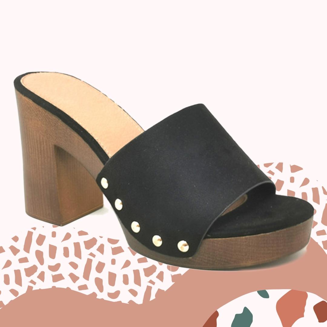 Sandalia de Tacón Edvin - Black