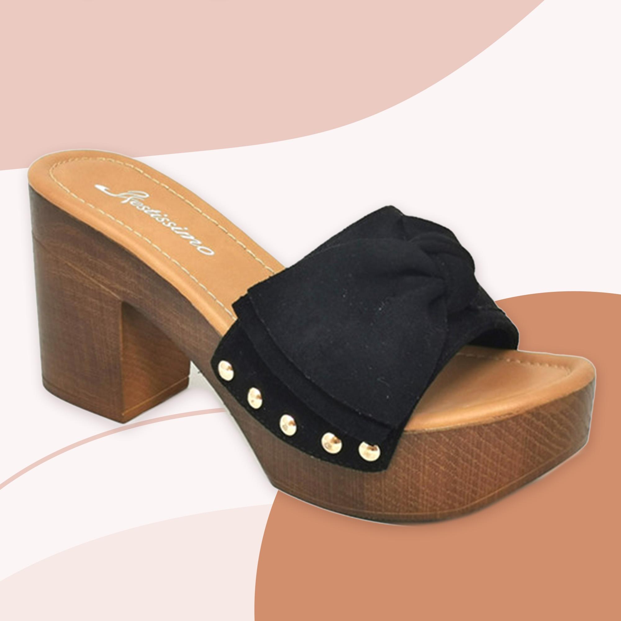 Sandalia de Tacón Colin - Black