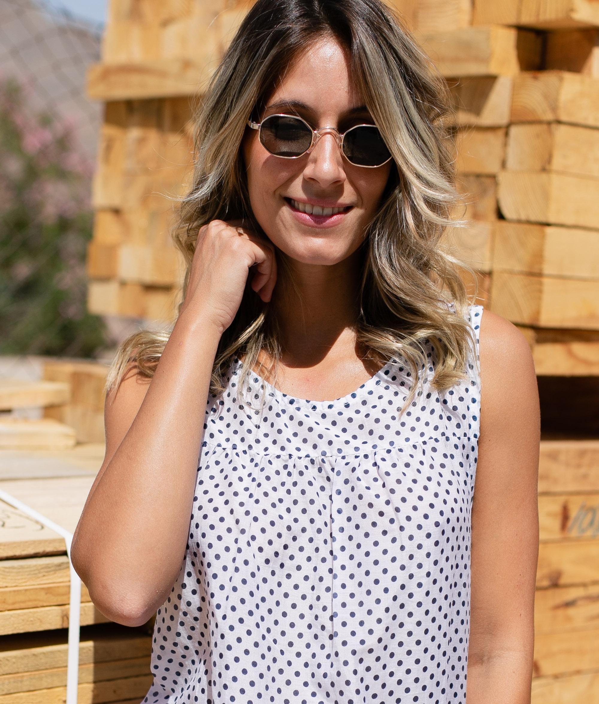 Blusa Neda - Blanco