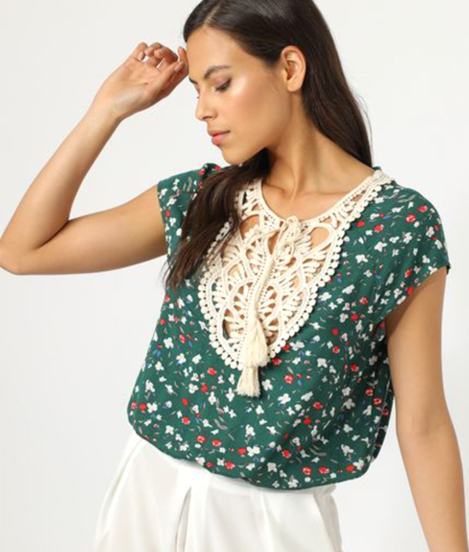 Blouse Ceres - Green