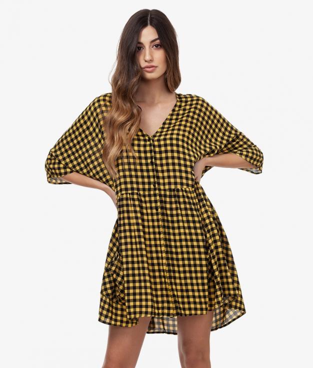 Vestido Obito - Amarelo