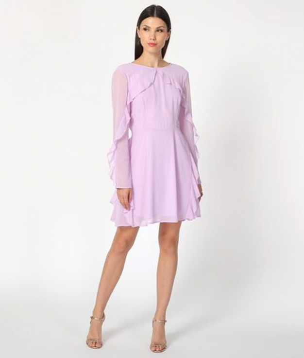 Vestido Nagato - Lilas