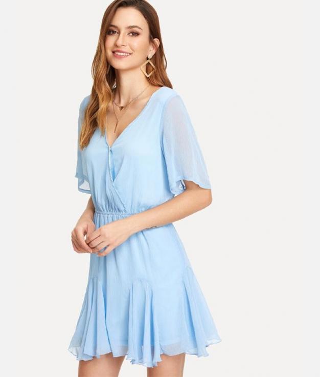 Vestido Orochimaru - Azul