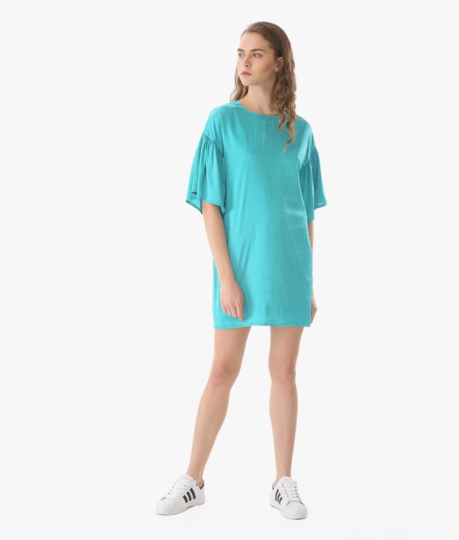 Vestido Temari - Turquesa