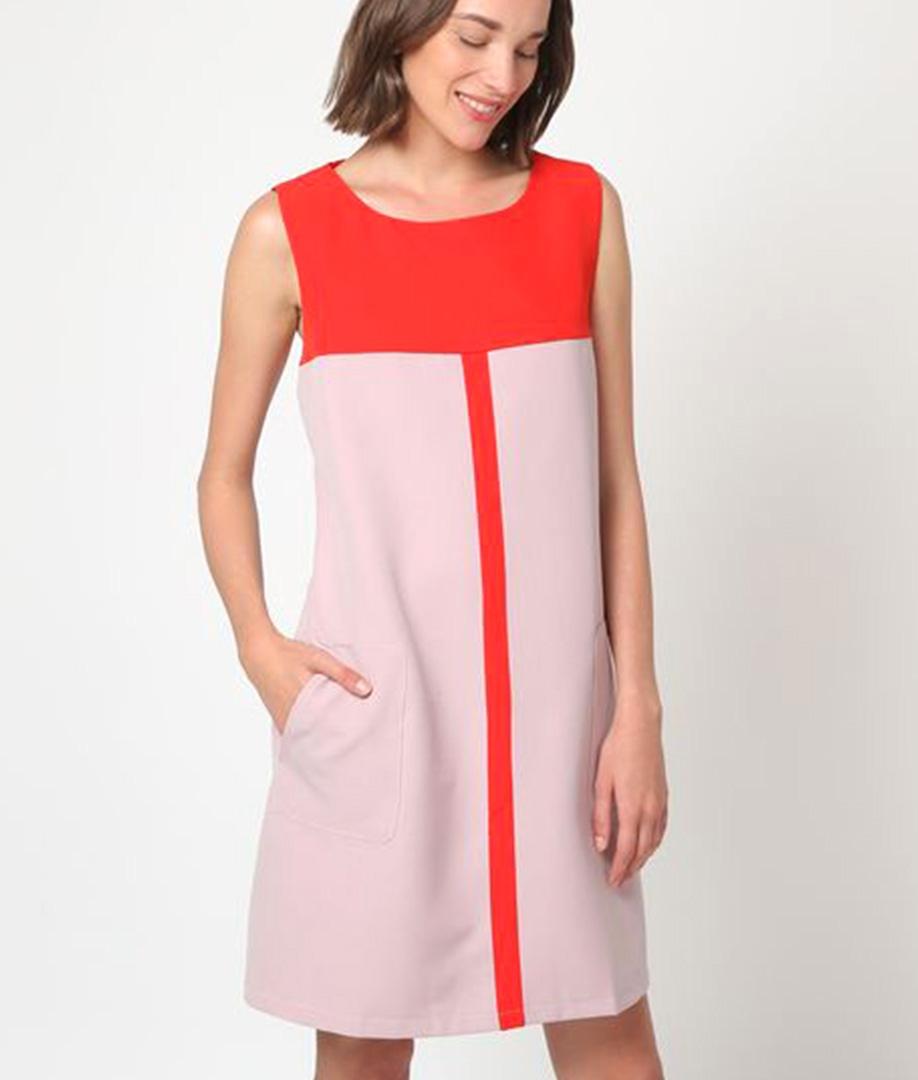 Vestido Akamaru - Rose