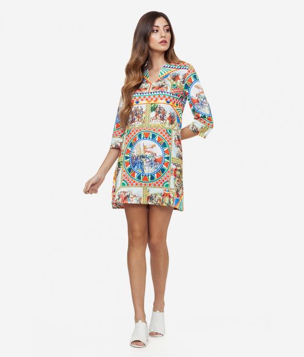 Dress Zabuza - Multicolor