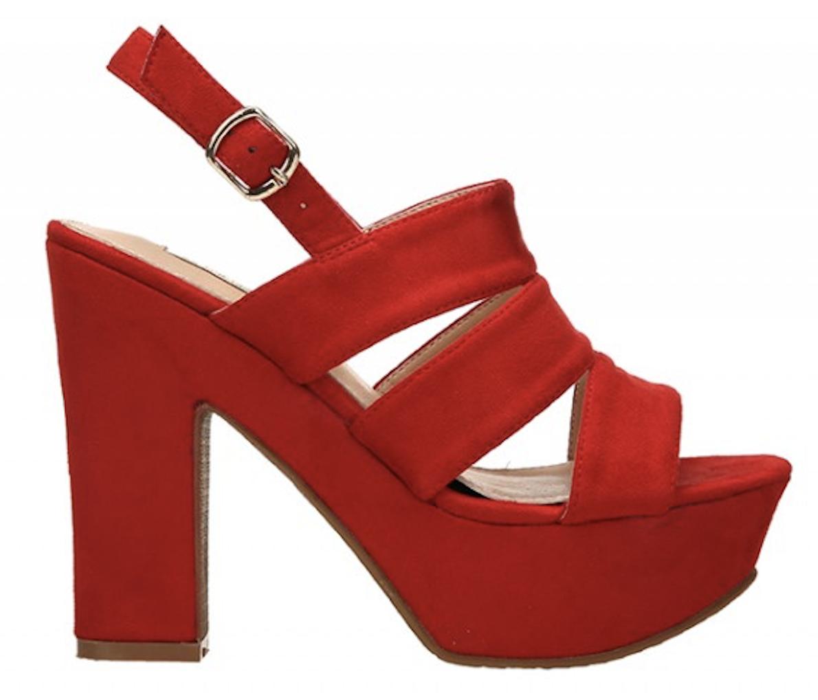 High Sandal Valin - Red