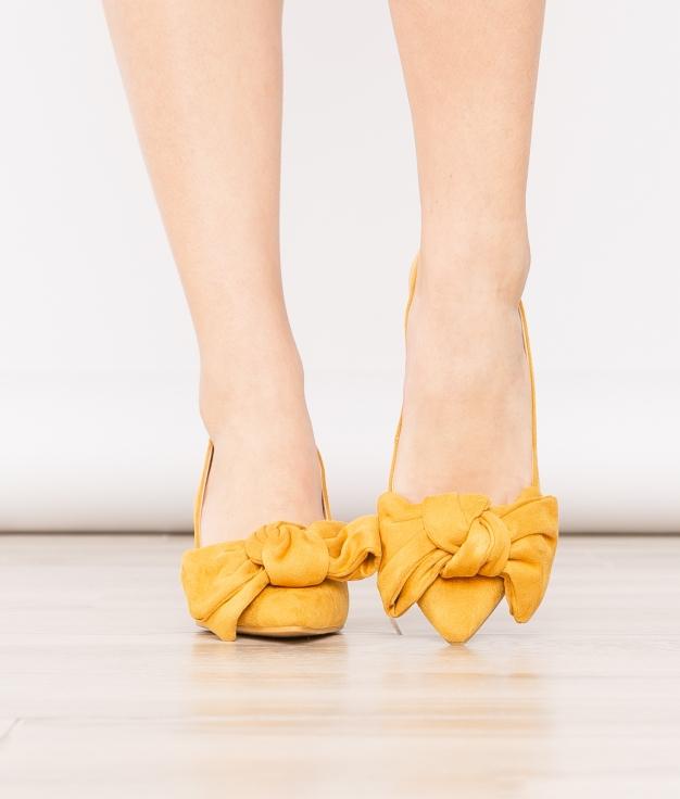 Zapato de Tacón Navet - Mostaza