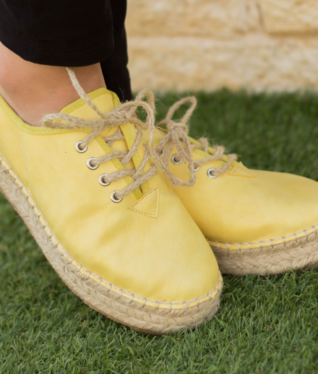 Zapato Merat - Amarillo