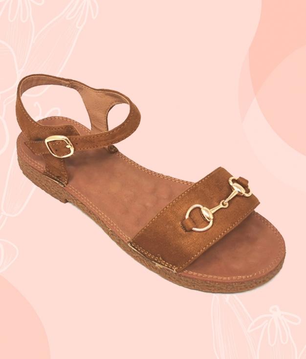Sandal Marileo - camel
