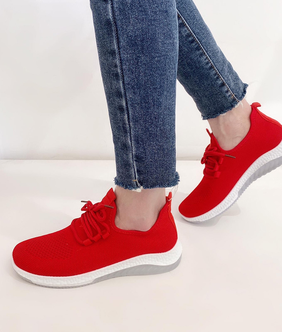 Sneakers Ronda - Vermelho
