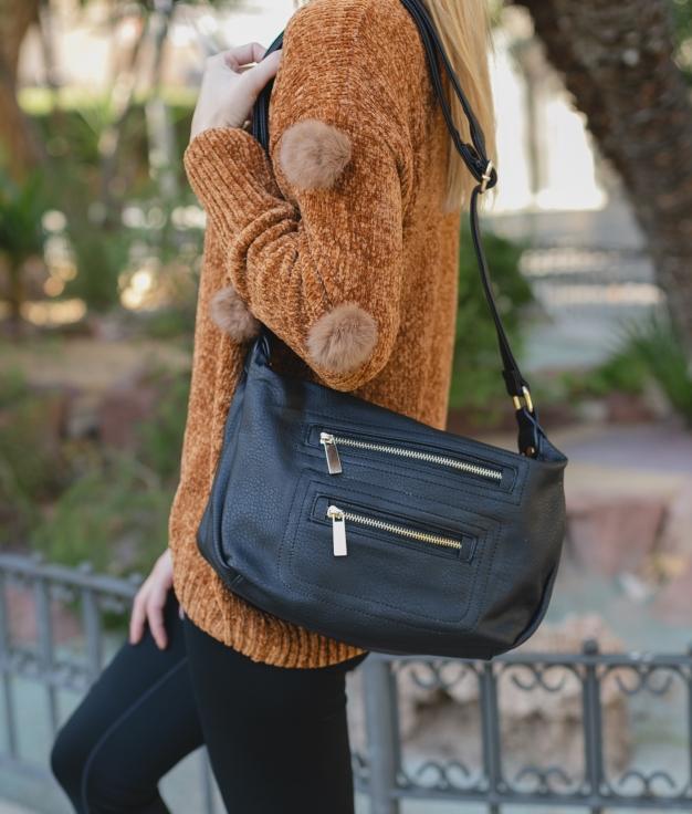 Shoulder Bag Bárbara - Black