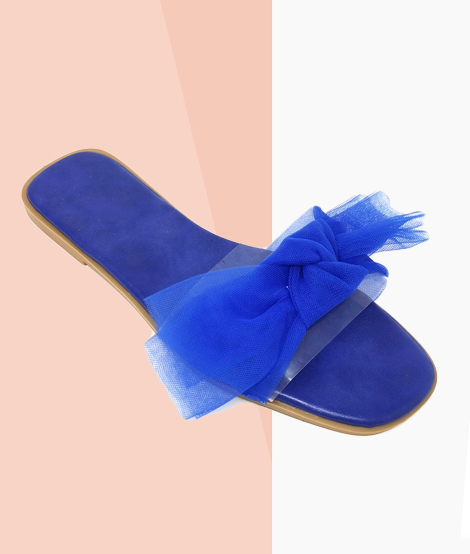 Flat Sandal Mena - Blue