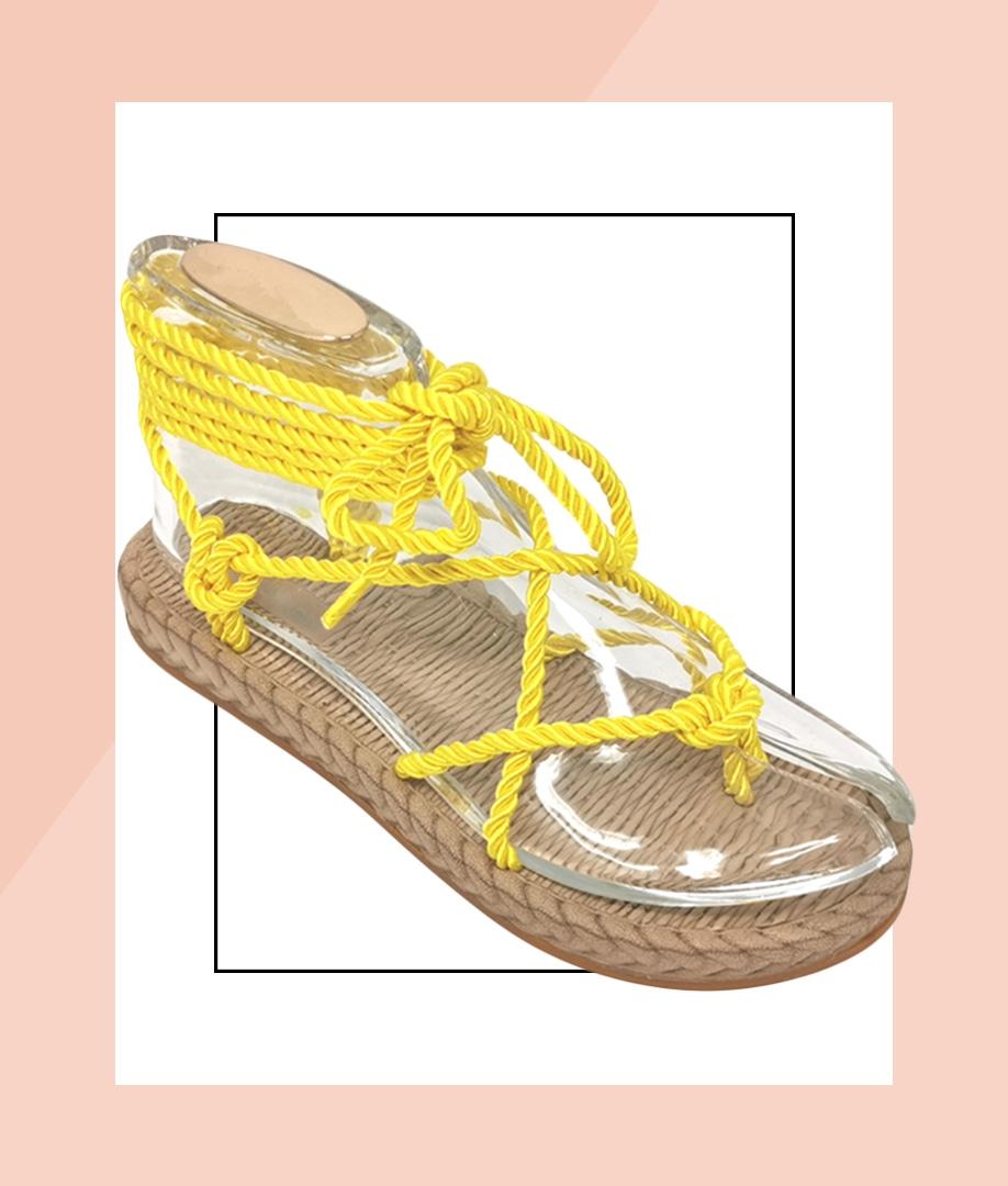 Sandal Santos - Yellow