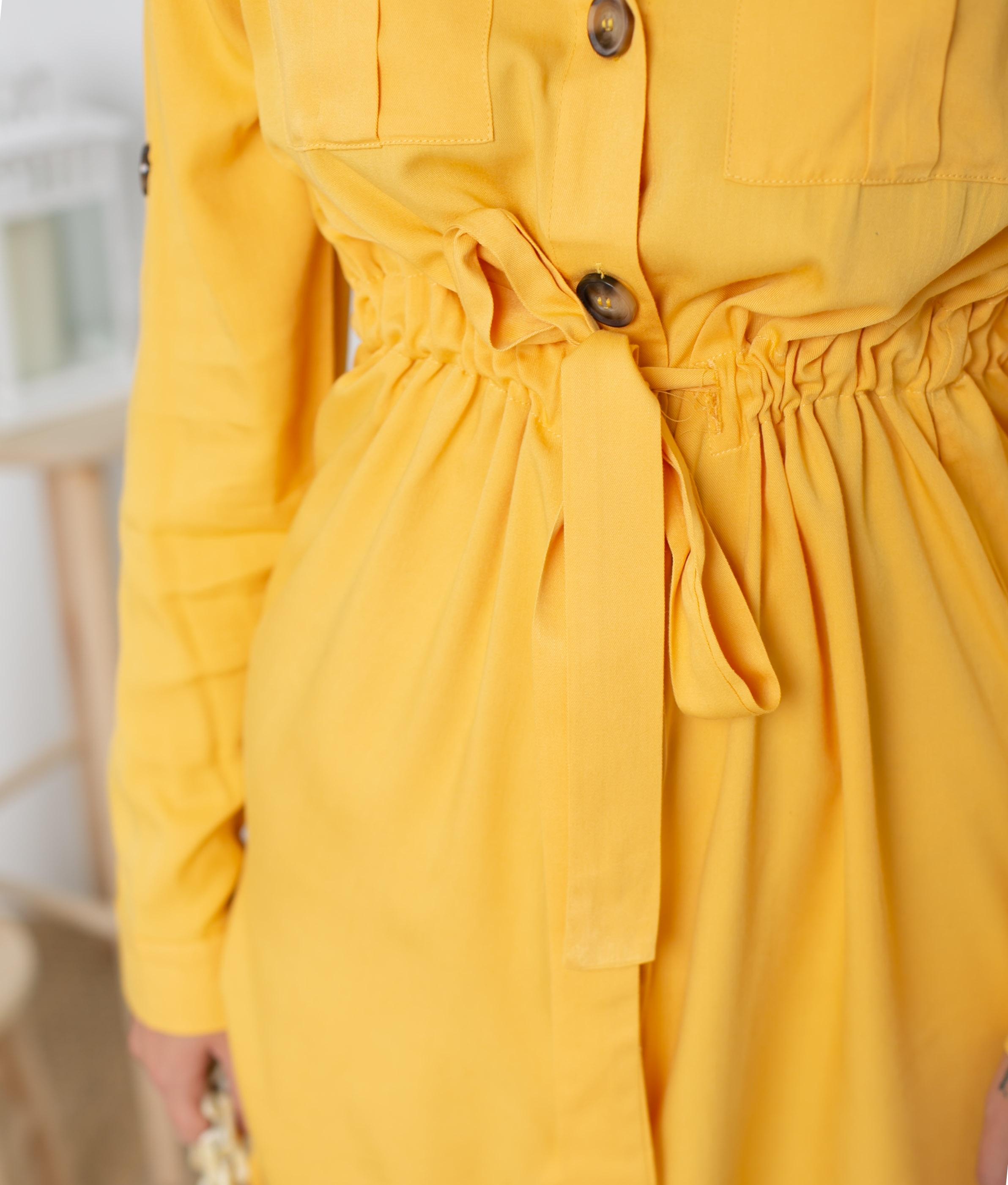 Vestido Kakelu - Amarelo