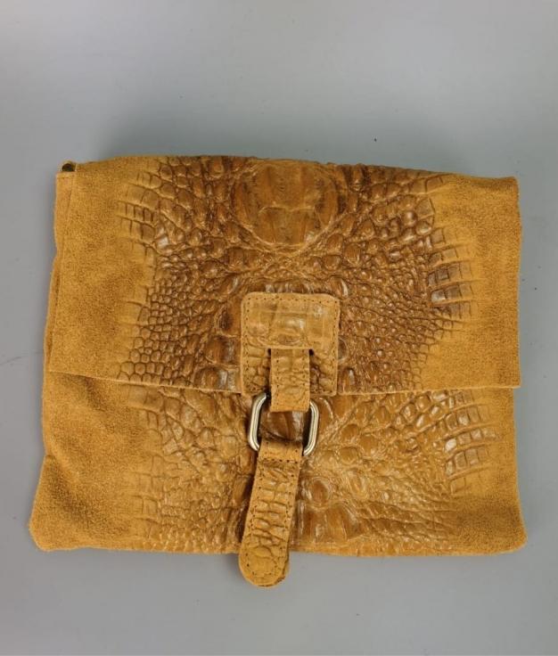 Bag Arabia 100% Piel - Mustard